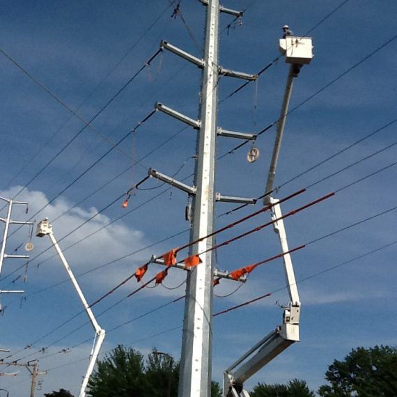BBC Electric Transmission Line construction and maintenance