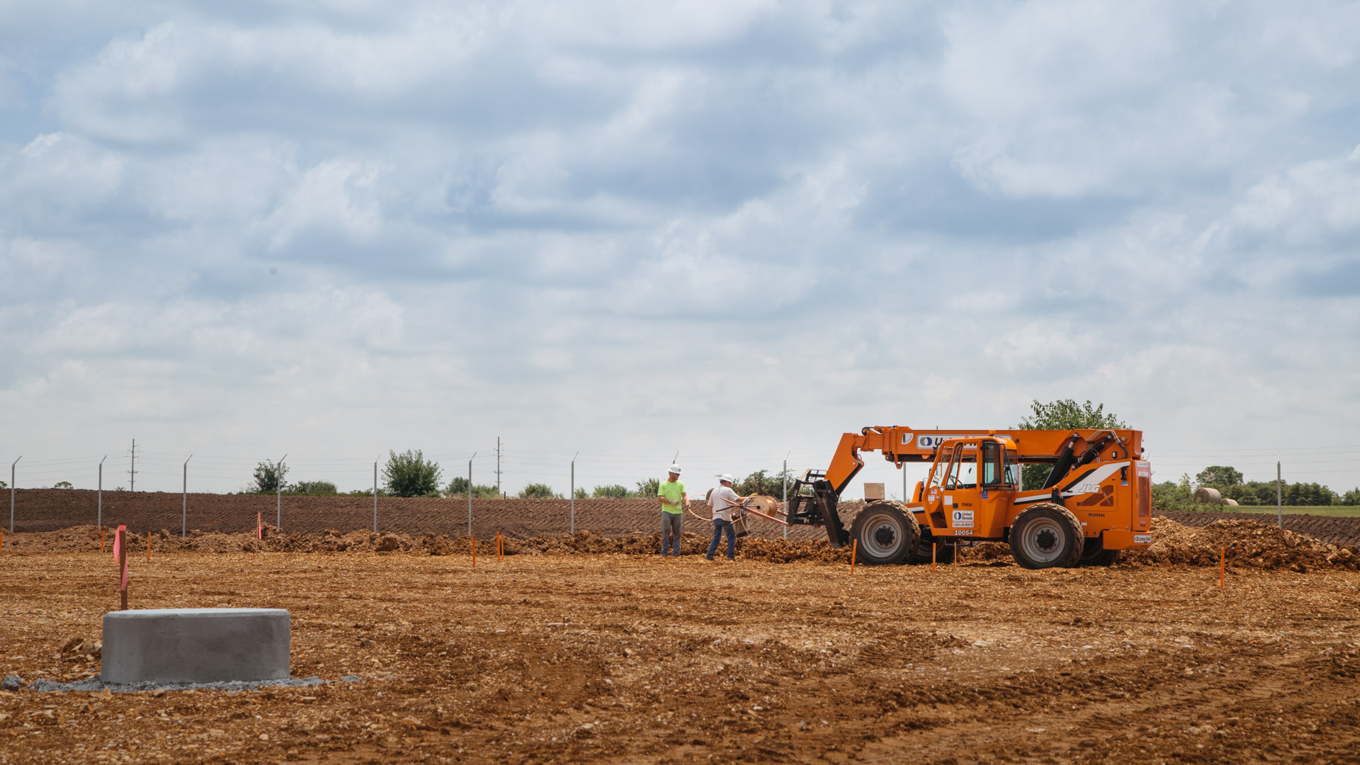 Image of groundwork at the Empire Substation in Joplin, MO.