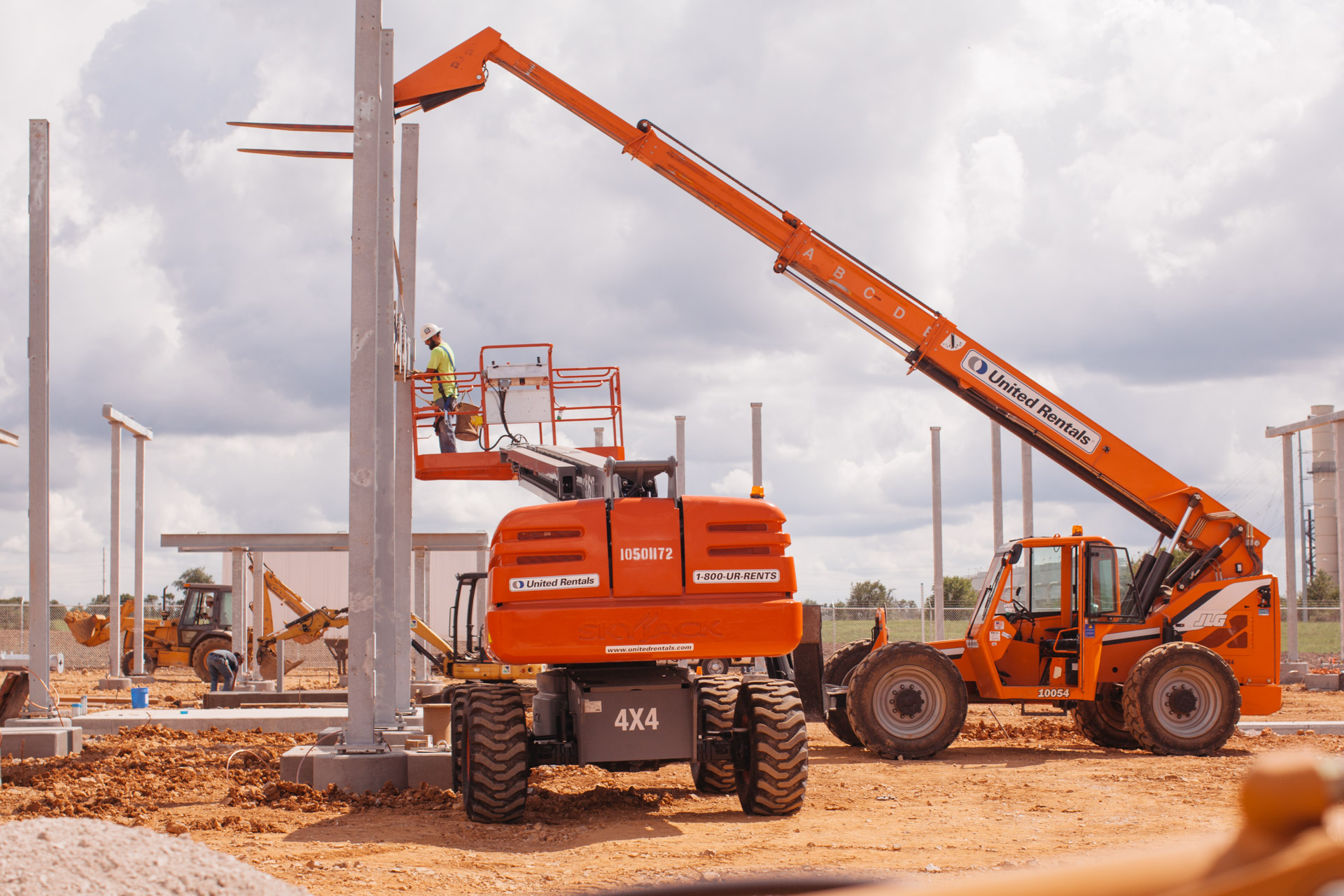 Image of further construction on Empire Substation in Joplin, MO.