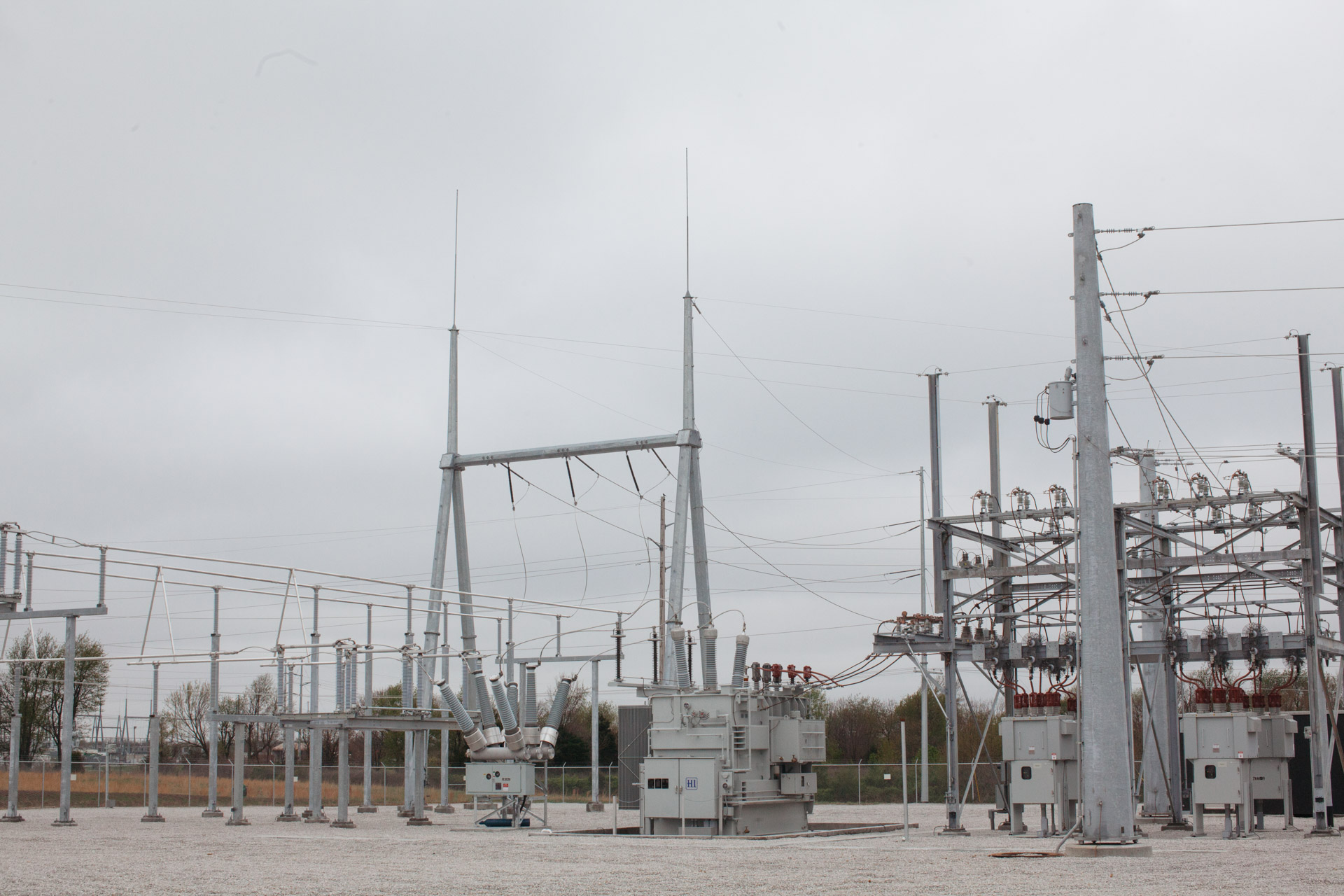Image of completed Empire Substation in Joplin, MO.